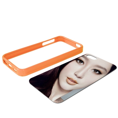 iPhone 5 Rubber Frame-Orange