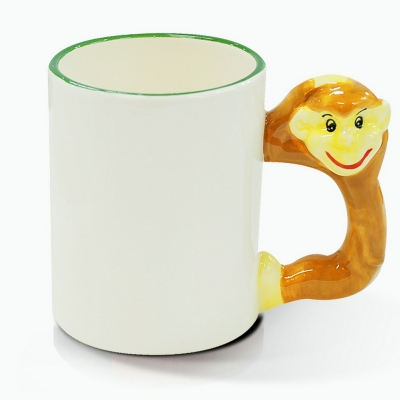 11oz Animal Mug-Monkey