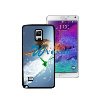 Black Samsung Galaxy Note 4 PC Case