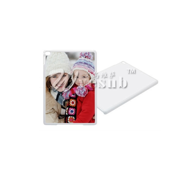 2015 Hot New Products for Sublimation Plastic iPad Air 2 Cover