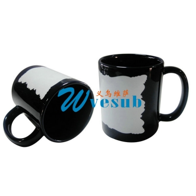 11oz New Sublimation Black Color Coated Mug