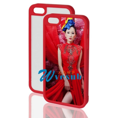 iPhone 5 Plastic Frame-Red