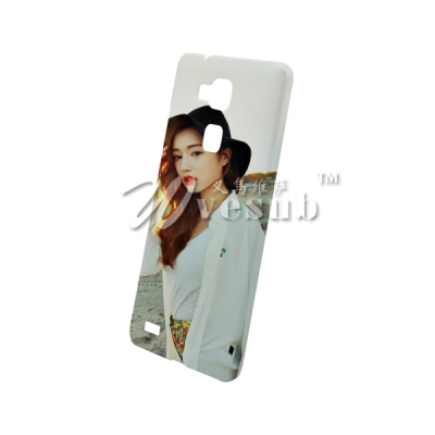 DIY 3D Heat Sublimation Printing Case for HUAWEI Ascend Mate7 Cover Glossy
