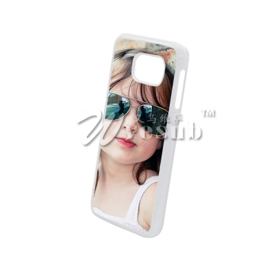 Sublimation Cases for Samsung Galaxy S6 G9200 Cover with Alu Insert-White