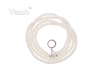 Fashion Noosa Necklace(09, Pearl)