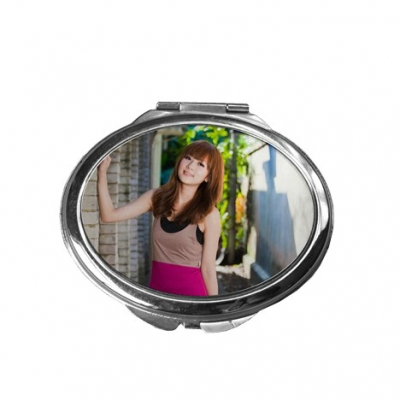 Compact Mirror-Oval