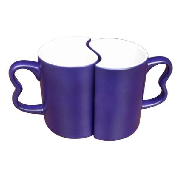 Color Changing Couple Mugs-Blue