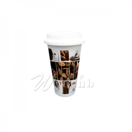 Eco Ceramic Tumbler Coffee Mug
