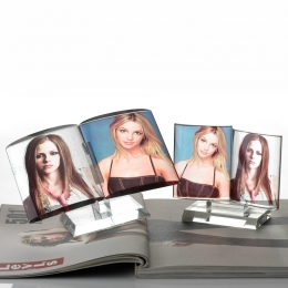Book-shaped Photo Crystal
