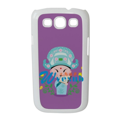 Dye Sublimation Phone Case For Galaxy S3-White