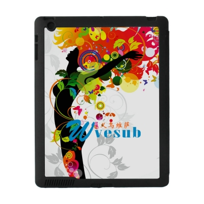 Sublimation Sub Magnetic Flip iPad Case-Black