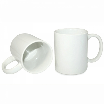 11oz White Coated Mug-Grade A