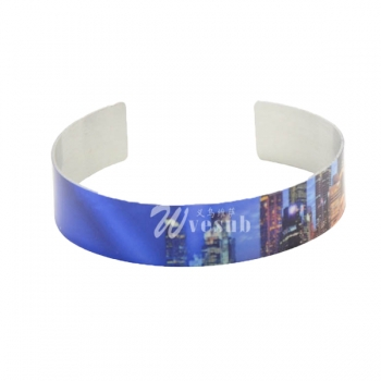 Wholesale Sublimation Aluminum Bracelet(1.2*16.9cm)
