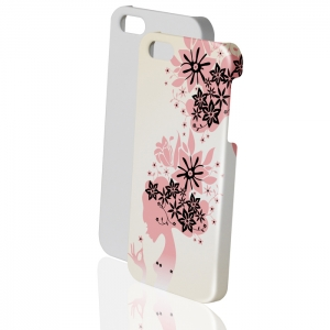 High Quality 3D Sublimation iPhone 5 Glazed Cover