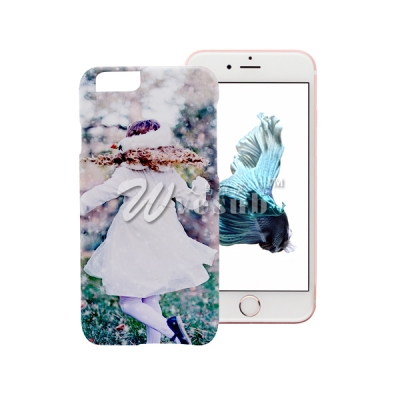 3D Sublimation Coated Printed Phone Cover For Iphone 6s Frosted Case