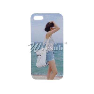 DIY 3D Heat Sublimation Printing Case for iPhone 5/5S Cover