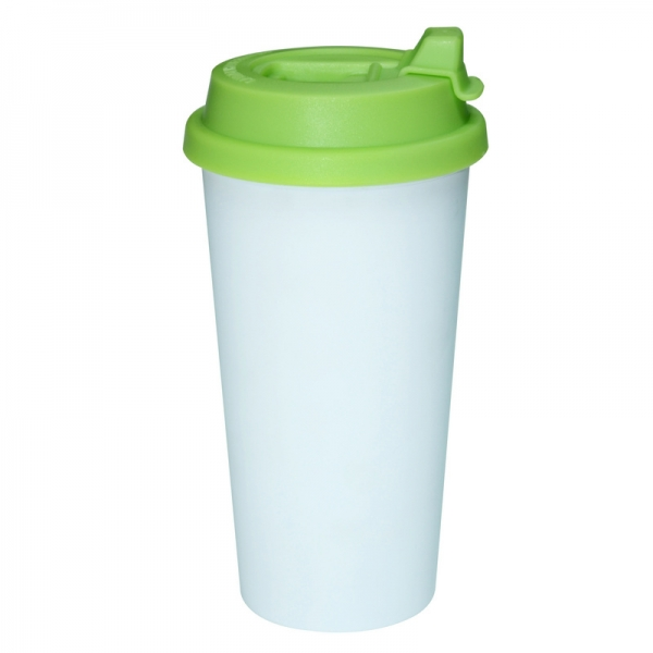 450ml Double Wall Sublimation Tumble(Revsible Cover)-Green