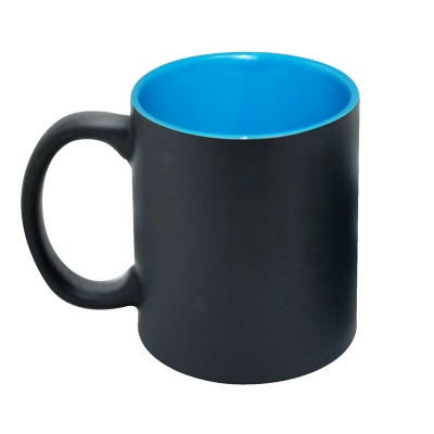 11oz Inner Color Change Mug-Light Blue