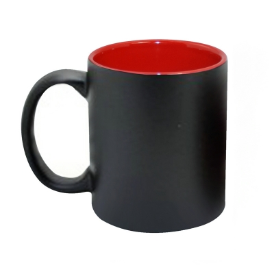 11oz Inner Color Change Mug-Red