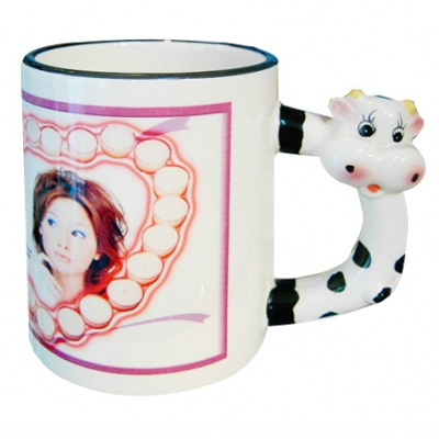 11oz Animal Mug-Ox