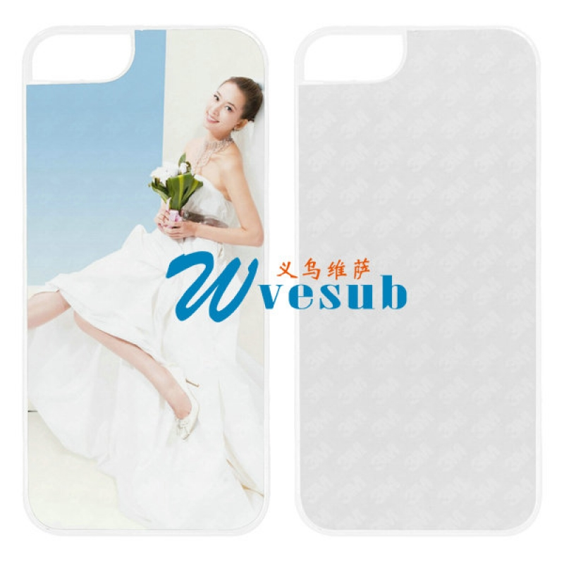White Plastic Sublimation iPhone 5C Case