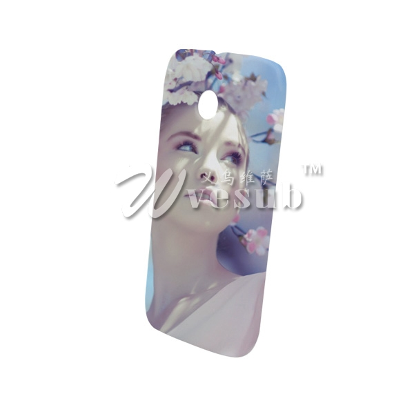 Wholesale 3D Diy Sublimation Motorola Moto E Cases Frosted
