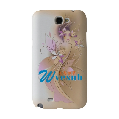 3D Samsung N7100 Cover-Frosted