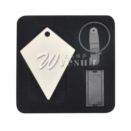 8G USB Stick Keyring-Diamond