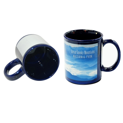 11oz Full Color Mug-Blue