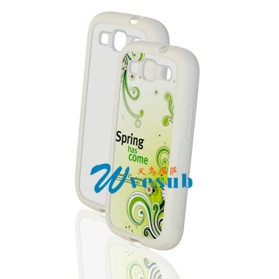 Sublimation Samsung Galaxy S3 i9300 White Cover