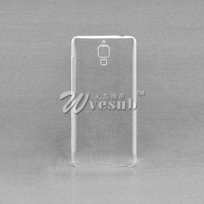 High Quality Sublimation 3D Xiaomi Mi4 Cases(Coated, Clear Glossy)