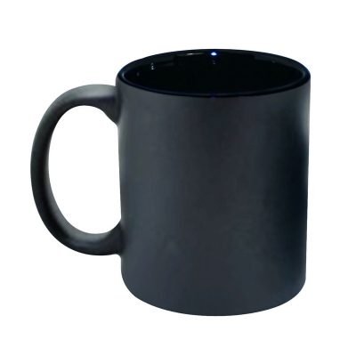 11oz Inner Color Change Mug-Black