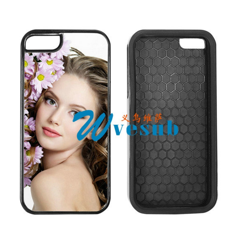 Black TPU 2-in-1 iPhone5C Cover
