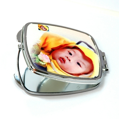 Compact Mirror-Square with Round Corner