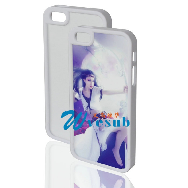 iPhone 5 Plastic Frame-White