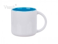 14oz Two-Tone Color Mug (Light Blue)