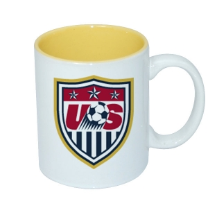 11oz Two-Tone Color Mug-Yellow