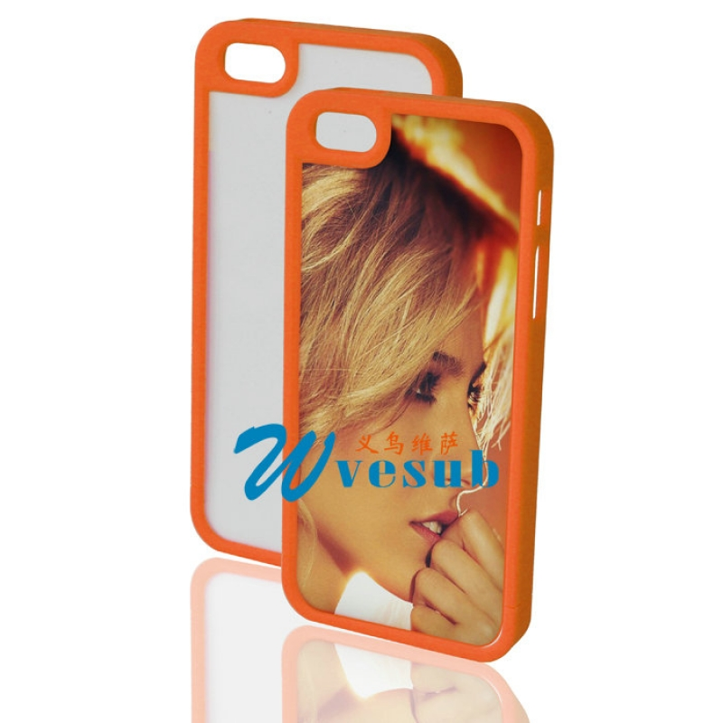 iPhone 5 Plastic Frame-Orange