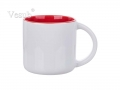 14oz Two-Tone Color Mug (Red)