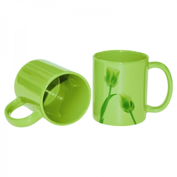 11oz Full Color Mug-Light Green