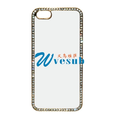 iPhone 5/5S Rhinestone Plastic Cover