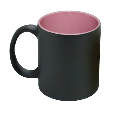 11oz Inner Color Change Mug-Pink