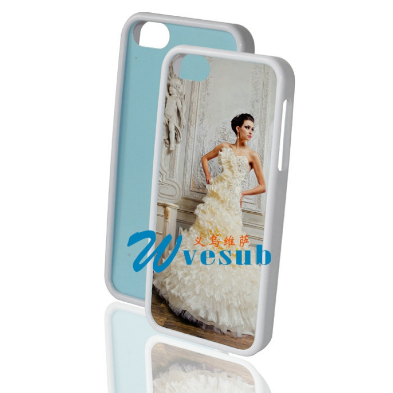 Sublimation iPhone 5 Rubber Frame-White