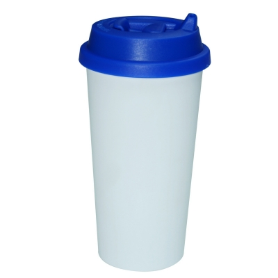450ml Double Wall Sublimation Tumble(Revsible Cover)-Dark Blue