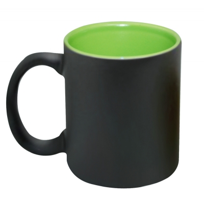 11oz Inner Color Change Mug-Green