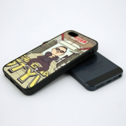 iPhone 5 Rubber Cover-Black