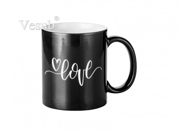 11oz Engraving Color Changing Mug (Heart)