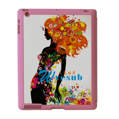 Sublimation Sub Magnetic Flip iPad Case-Pink