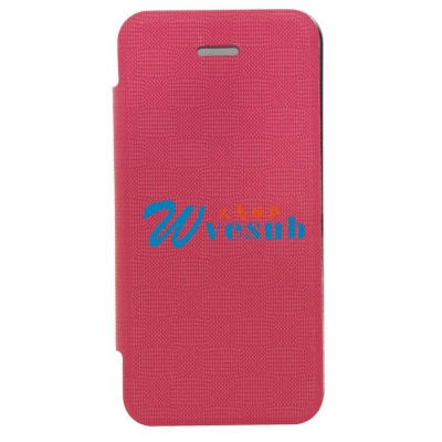 iPhone5 Foldable Case-Purple Red