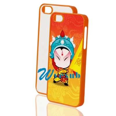 Sublimation Cases for Apple iPhone5 5s-Orange